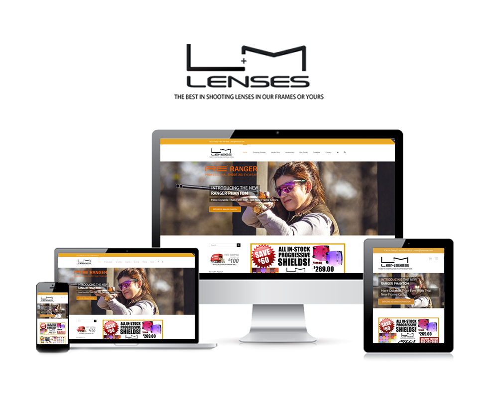LM Lenses - Nubrand Media Client