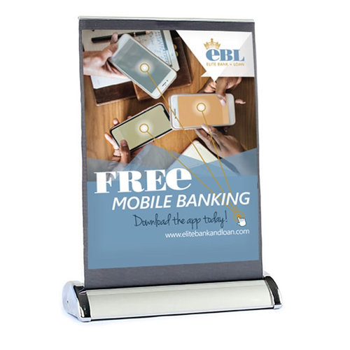 12x17 retractable banner - nubrand media