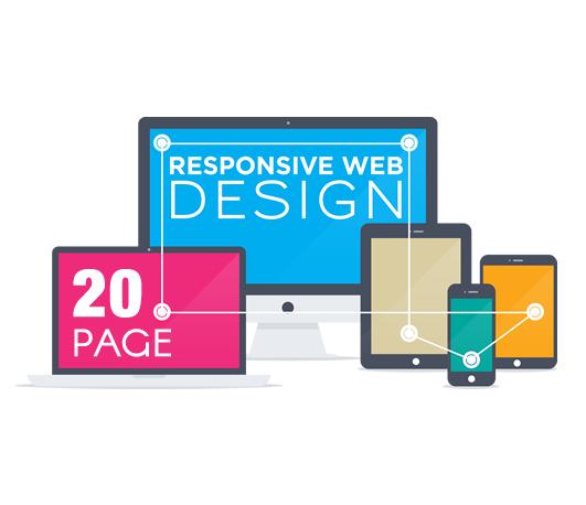 20 Page Website Design - Nubrand Media