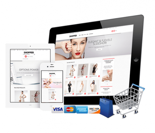 Ecommerce Website Design - Nubrand Media