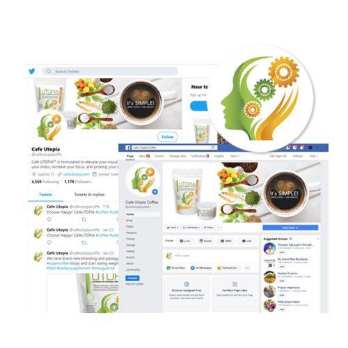 Social Branding Design - Nubrand Media