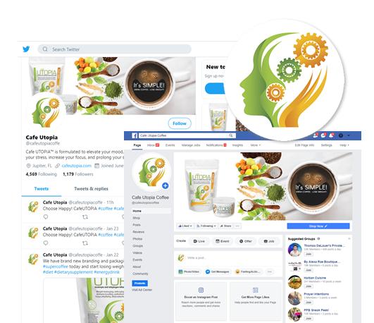 Social Graphic Branding - Nubrand Design