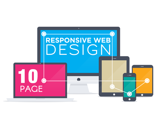 Web Design 10 Page - Nubrand Media