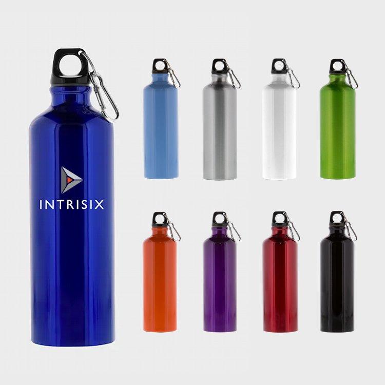 Custom Aluminum Water Bottle - Nubrand Media